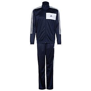 adidas Entry Knit Trainingsanzug Herren blau / weiß