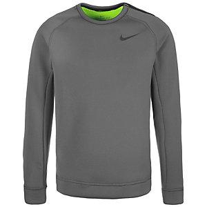 Nike Thermasphere Max Crew Sweatshirt Herren grau / lime