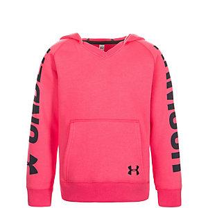 Under Armour ColdGear Favorite Fleece Hoodie Mädchen pink / schwarz