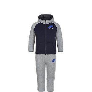 Nike Brushed Fleece Trainingsanzug Kinder dunkelblau / grau