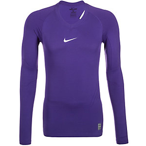 Nike Pro Lightweight Funktionsshirt Herren lila / grau