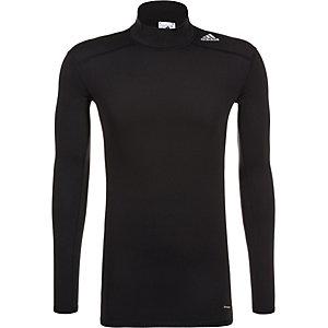 adidas TechFit Base Climawarm Mock Funktionsshirt Herren schwarz