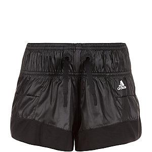 adidas Wardrobe Style Shorts Mädchen schwarz / weiß
