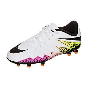 Nike Hypervenom Phelon II Fußballschuhe Kinder weiß / schwarz
