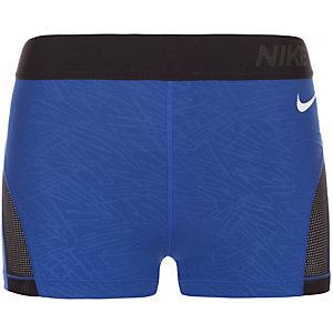 Nike Pro Hypercool Palm Tights Damen blau / schwarz