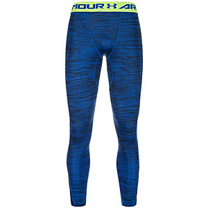 Under Armour HeatGear CoolSwitch Compression Tights Herren dunkelblau / lime