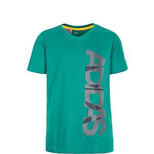 adidas Locker Room Brand Funktionsshirt Jungen grün