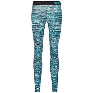 Nike Pro Warm Static Tights Damen grau / schwarz