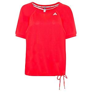 adidas ClimaChill Loose Funktionsshirt Damen rot