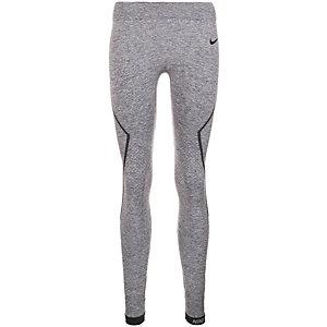 Nike Pro Hyperwarm Limitless Tights Damen grau / schwarz