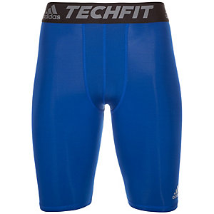 adidas TechFit Base Tights Herren blau / schwarz