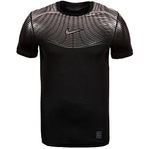Nike Pro Hypercool Max Elite Fitted Funktionsshirt Herren schwarz / silber