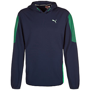 PUMA PT AT Cool Graphic Sweatshirt Herren dunkelblau / mint