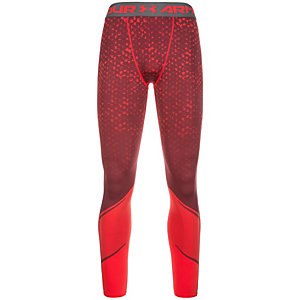 Under Armour HeatGear Armour Scope Compression Tights Herren bordeaux / rot
