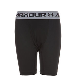 Under Armour HeatGear CoolSwitch Tights Jungen schwarz / grau