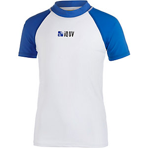 iQ UV-Shirt Kinder weiß/blau