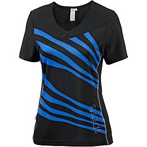 Joy Arwen T-Shirt Damen schwarz/blau
