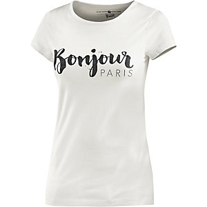 TOM TAILOR T-Shirt Damen weiß