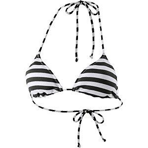 Skiny Miami Heat Bikini Oberteil Damen schwarz/weiß