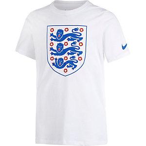 Nike England EM 2016 Fanshirt Kinder weiß