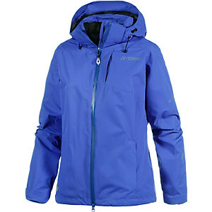 Maier Sports Tour Cycle Regenjacke Damen blau