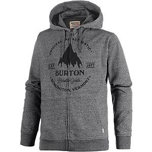 Burton Gristmill Full Sweatjacke Herren anthrazit