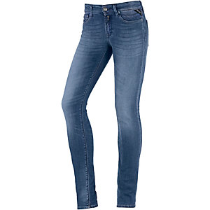 REPLAY Luz Skinny Fit Jeans Damen dark blue denim