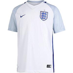 Nike England EM 2016 Heim Fußballtrikot Kinder weiß/grau