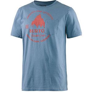 Burton Gristmill Slim Printshirt Herren hellblau