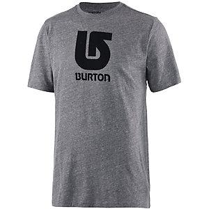 Burton Logo Vertical Printshirt Herren graumelange
