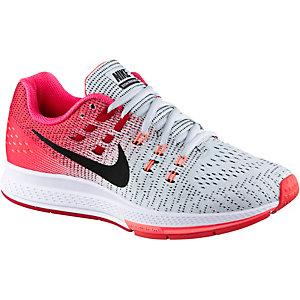 Nike Air Zoom Structure 19 Laufschuhe Damen weiß/rot