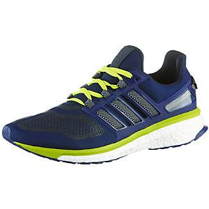 adidas Energy Boost Laufschuhe Herren blau/neongelb