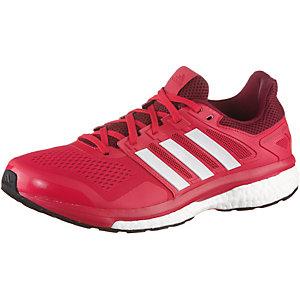 adidas Supernova Glide 8 Laufschuhe Herren rot/weiß