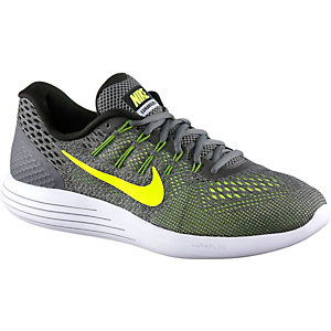 Nike Lunarglide 8 Laufschuhe Herren grau/gelb