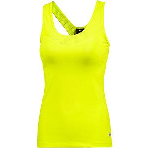Nike Pro Funktionstank Damen neongelb