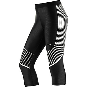 Nike Power Speed Lauftights Damen schwarz