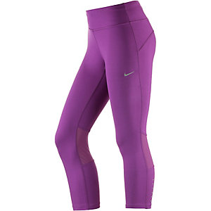 Nike Drifit Epic Run Crop Lauftights Damen lila