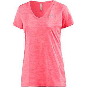 Under Armour TECH Funktionsshirt Damen neonkoralle/melange