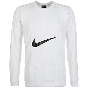 Nike Court Crew Sweatshirt Herren weiß / schwarz