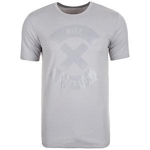 Nike Football X Logo Fanshirt Herren grau