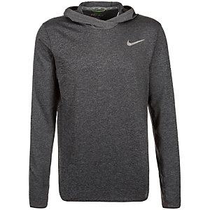 Nike Ultimate Dry Hoodie Herren schwarz / grau / silber