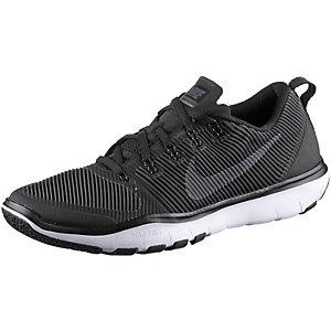 Nike Free Train Versatility Fitnessschuhe Herren schwarz-weiß