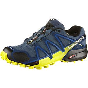 Salomon SPEEDCROSS 4 GTX® Laufschuhe Herren dunkelblau/gelb