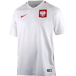 Nike Polen EM 2016 Heim Fußballtrikot Herren weiß/rot