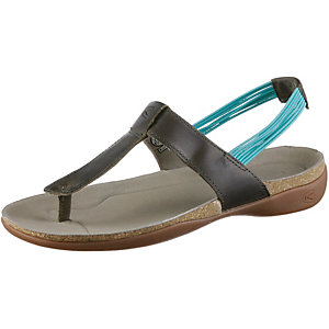 Keen Dauntless Posted Outdoorsandalen Damen oliv/türkis