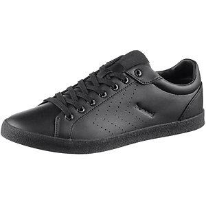 hummel Deuce Court Tonal Sneaker Herren schwarz