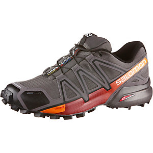 Salomon SPEEDCROSS 4 CS Laufschuhe Herren grau/orange