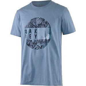 Oakley Shoots Printshirt Herren blau