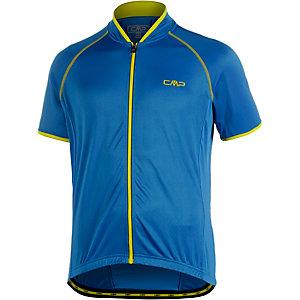 CMP Fahrradtrikot Herren blau/gelb