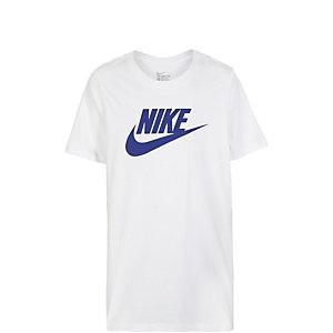 Nike Futura Icon Funktionsshirt Kinder weiß / dunkelblau